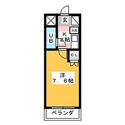 シティパレス平尾駅前P−5[4階]の間取り