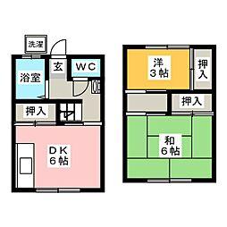 宮島荘[1階]の間取り