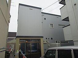 北海道札幌市東区北二十条東3丁目の賃貸アパートの外観