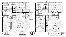 [一戸建] 神奈川県川崎市麻生区万福寺5丁目 の賃貸【/】の間取り