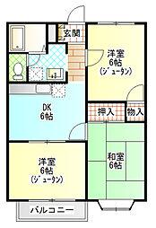 星崎アパート3号棟[312号室]の間取り