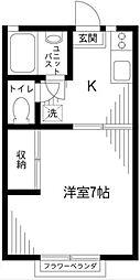 チェリーハイム[2階]の間取り