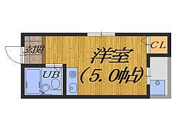 大阪府堺市堺区榎元町3丁の賃貸マンションの間取り