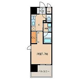 仮)東区泉三丁目計画[8階]の間取り