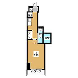 エステムプラザ東山邸[2階]の間取り