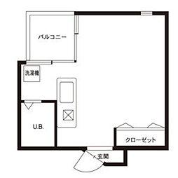 A2ビル[311号室]の間取り