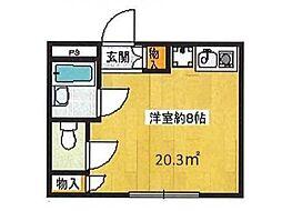 SVSビル[2階]の間取り