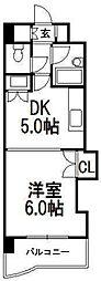 北海道札幌市中央区南五条東3丁目の賃貸マンションの間取り