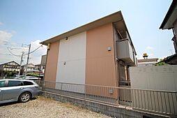 千葉県流山市美原1の賃貸アパートの外観