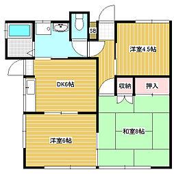 [一戸建] 長野県松本市波田 の賃貸【/】の間取り