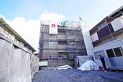 阪急千里線 北千里駅 バス7分 小野原南下車 徒歩4分の賃貸アパート