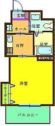 古船場タカヤコーポレーションビル[402号室]の間取り