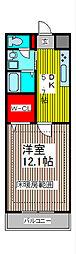 SUNRIZE・大褄[3階]の間取り