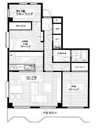 グレースマンション[301号室]の間取り