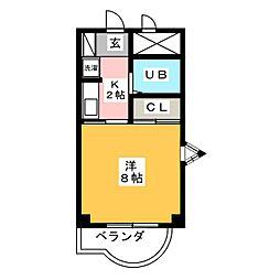 メゾンロジェール[2階]の間取り