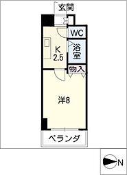 クレストステージアスカ[5階]の間取り