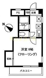 神奈川県横浜市保土ケ谷区岩間町2丁目の賃貸マンションの間取り