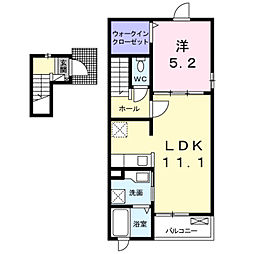 深野3丁目アパート2[0203号室]の間取り