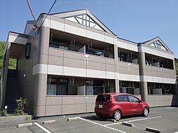 岡山県井原市笹賀町1丁目の賃貸アパートの外観