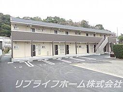 徳島県徳島市南佐古八番町の賃貸アパートの外観