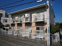 大阪府高槻市土室町の賃貸アパートの外観