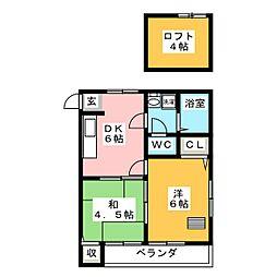 MHハウスI[1階]の間取り