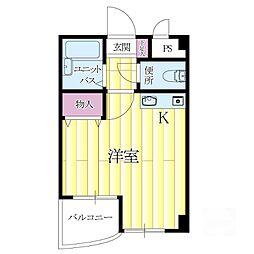 リーフマンション[1階]の間取り