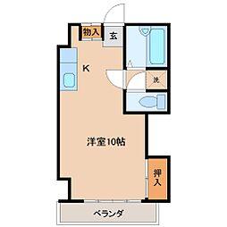 アメニティハウス[5階]の間取り