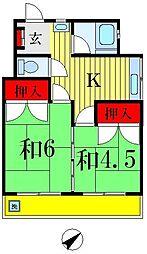 高橋マンション[3階]の間取り