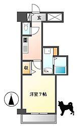 PONTE ALTO 新栄(ポンテアルト)[8階]の間取り
