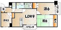 片野レジデンシャルビル[5階]の間取り