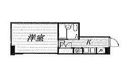 TKマンション[203号室]の間取り