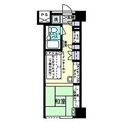 アルファコンフォート博多[11階]の間取り