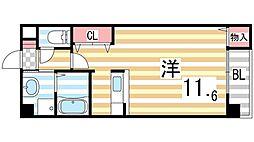 ING1[303号室]の間取り
