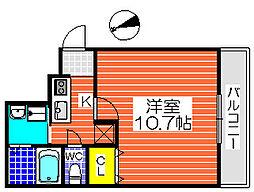 フジパレス堺東雲Ⅲ番館[2階]の間取り