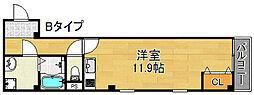 ルアン清水ヶ丘[3階]の間取り