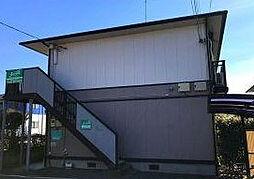 埼玉県さいたま市岩槻区西原台1丁目の賃貸アパートの外観