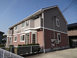 愛知県名古屋市守山区桔梗平2の賃貸アパートの外観