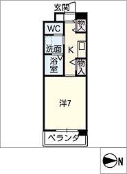メゾンやわらぎ[1階]の間取り