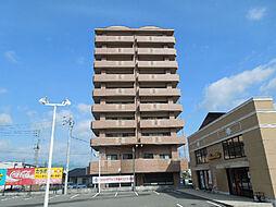 愛媛県松山市南久米町の賃貸マンションの外観