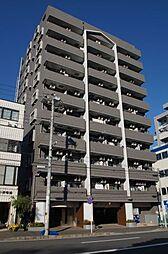 神奈川県横浜市神奈川区栄町の賃貸マンションの外観