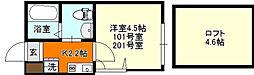 横浜市磯子区杉田4丁目プルミエール杉田[201号室号室]の間取り