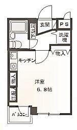 東京都葛飾区小菅1丁目の賃貸マンションの間取り