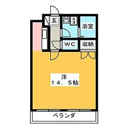 アストラーレ[4階]の間取り
