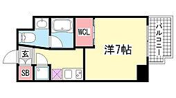 Ulysses新神戸[5階]の間取り