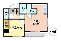 ドムス東栄[2階]の間取り