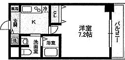 エステムコート難波IIアレグリア[10階]の間取り