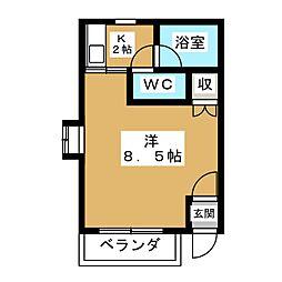 メゾン・レリック[3階]の間取り