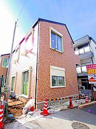 東京都西東京市緑町3丁目の賃貸アパートの外観