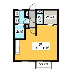 メナー泉[1階]の間取り